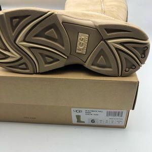 UGG Shoes - Ugg Women's Ultimate Tall Braid Sheepskin Boots 6